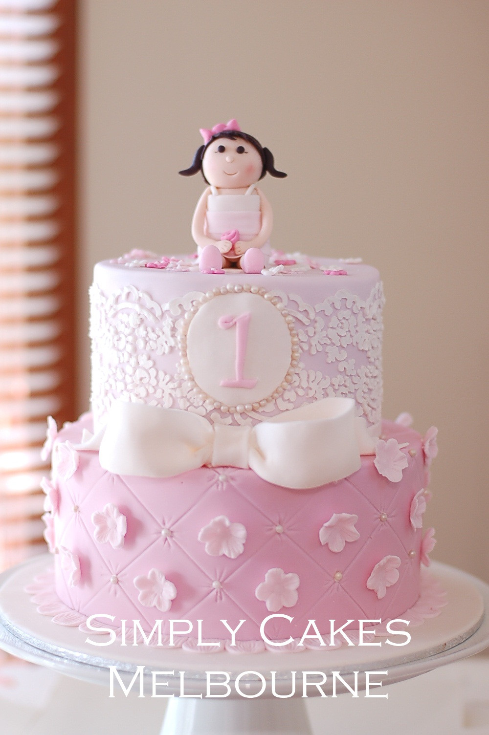 Princess 1st Birthday Cake  Simply Cakes Melbourne 1st birthday Princess Cake