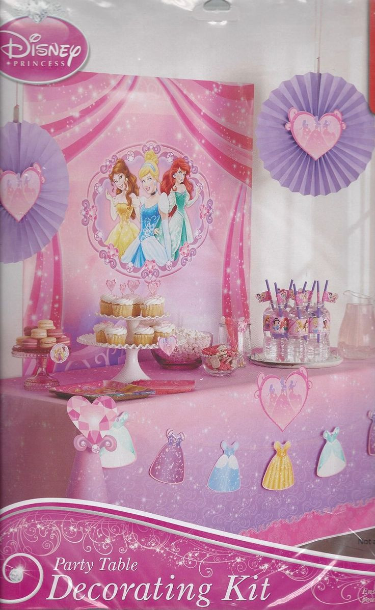 25 Basta Disney Princess Party Ideerna Pa Pinterest
