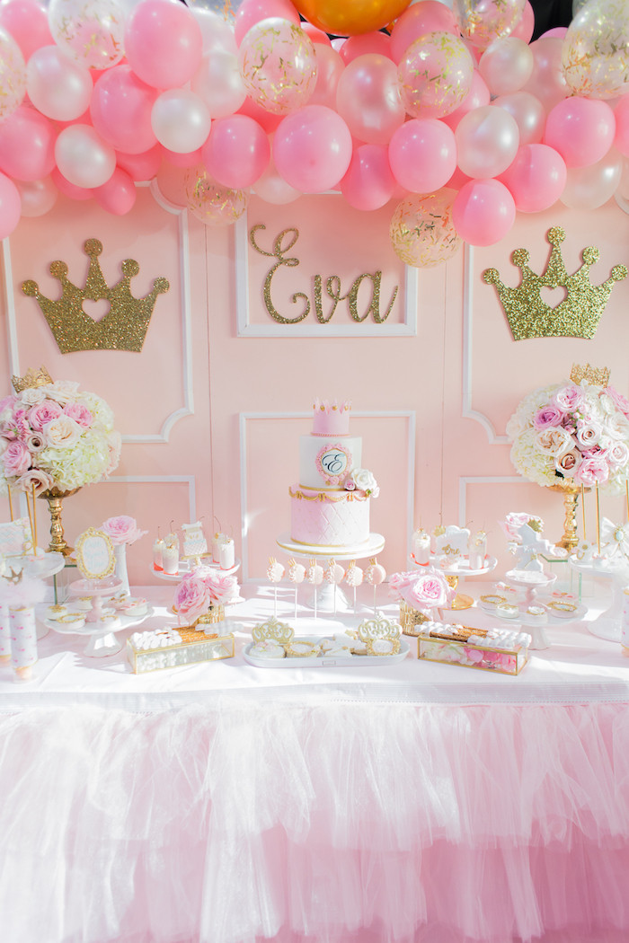 Best ideas about Princess Themed Birthday Party . Save or Pin Kara s Party Ideas Magical Princess Birthday Party Now.