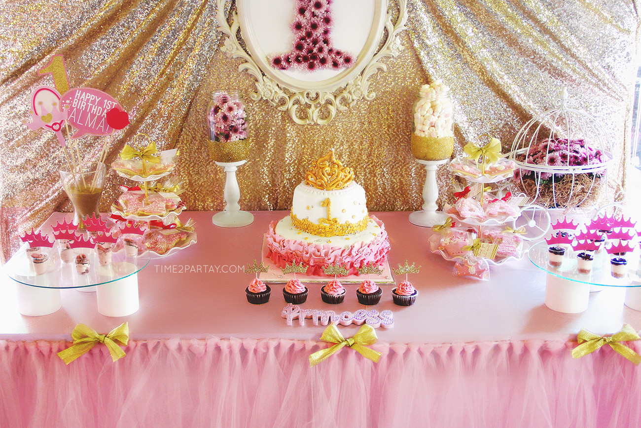 Best ideas about Princess Themed Birthday Party . Save or Pin Alma's Princess Themed First Birthday Party Now.