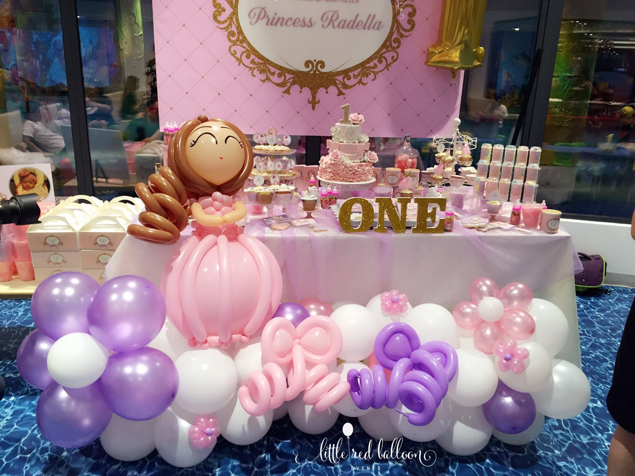 Best ideas about Princess Themed Birthday Party . Save or Pin Little Red Balloon – Princess Party Decorations In Now.