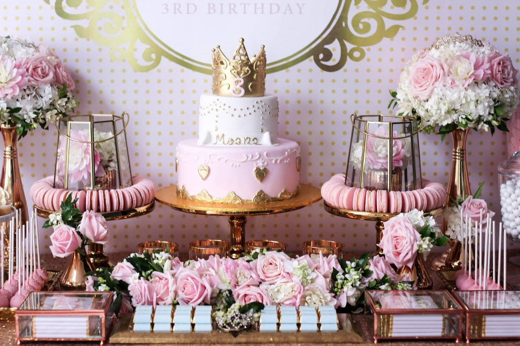 Best ideas about Princess Themed Birthday Party . Save or Pin Princess Theme 3rd Birthday Party Now.
