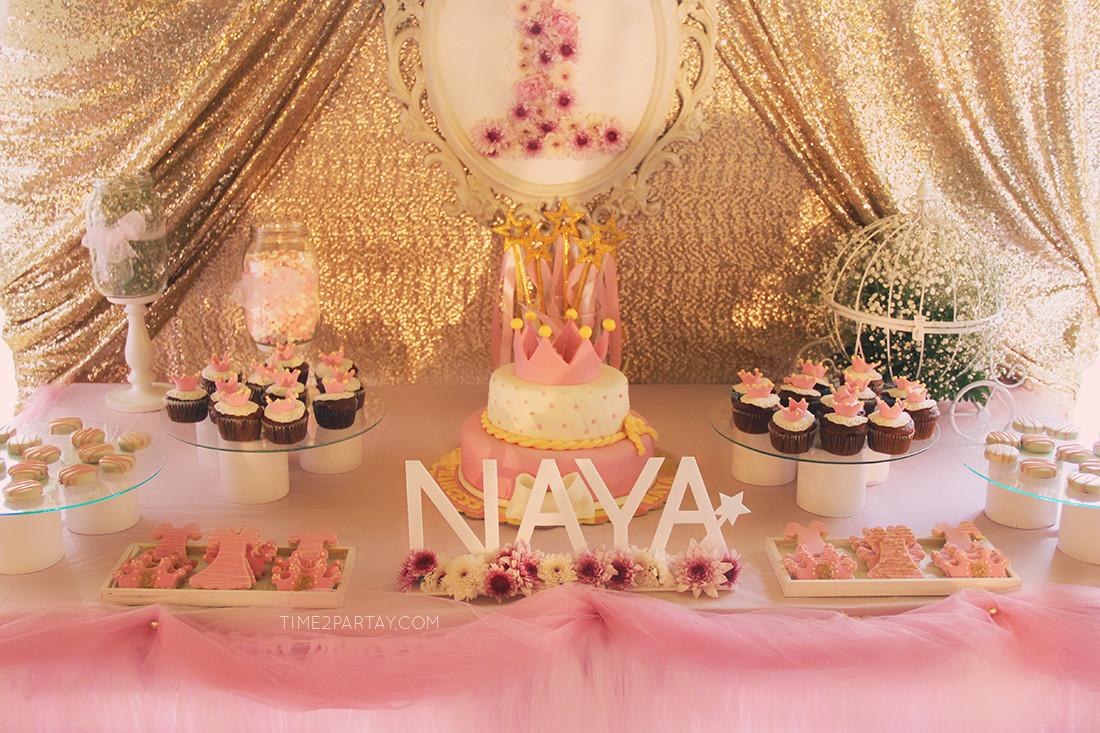 Best ideas about Princess Themed Birthday Party . Save or Pin A Pink & Gold Princess Themed Birthday Now.