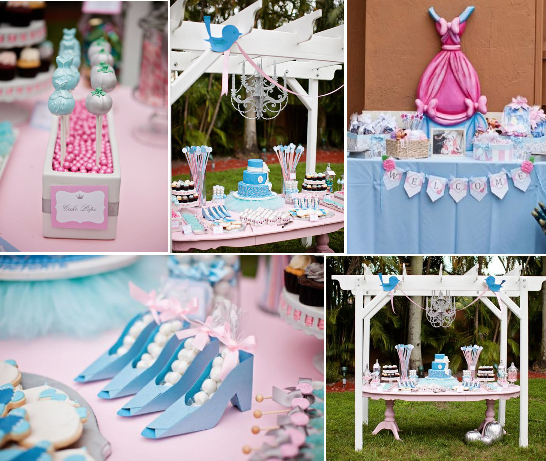 Best ideas about Princess Themed Birthday Party . Save or Pin Kara s Party Ideas Disney Princess Cinderella Girl 1st Now.