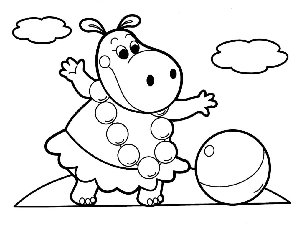 Printable Animal Coloring Pages For Kids  Animal Printable Coloring Pages For Kids Animal Coloring