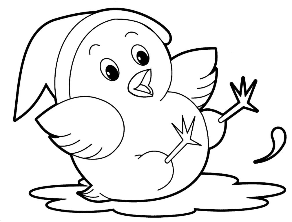 Printable Animal Coloring Pages For Kids  Delicate Printable Coloring Pages For Kids Animals Free