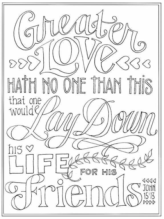 Printable Bible Coloring Pages For Kids Book Of John  Valentine s Coloring Pages Flanders Family Homelife