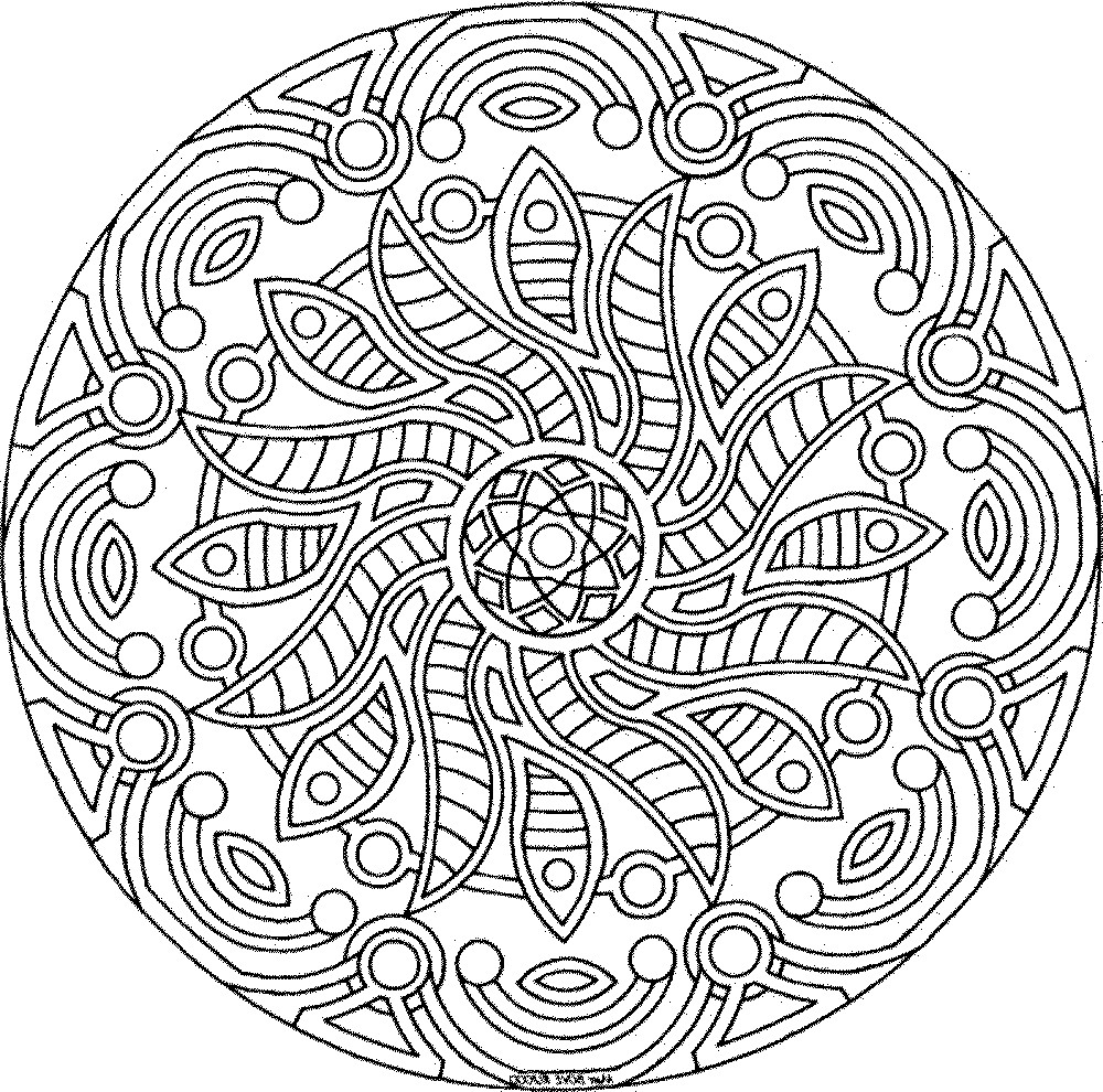 Printable Coloring Pages Adults Free  Free Printable Coloring Pages For Adults ly Image 1