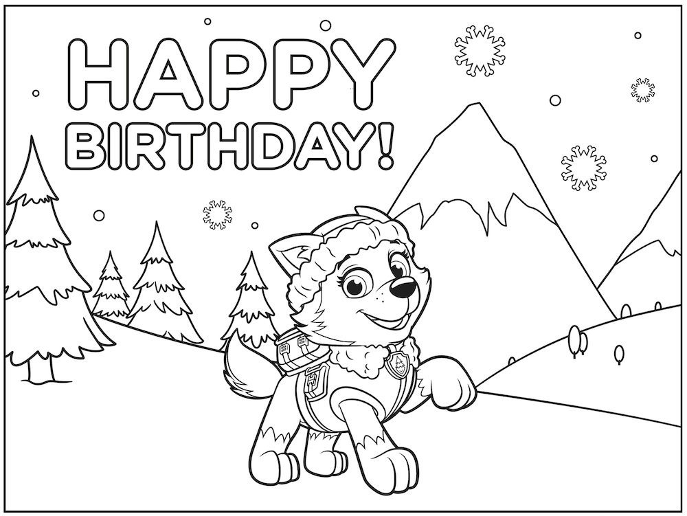 Best ideas about Printable Coloring Pages For Girls Paw Patrol . Save or Pin Paw Patrol Coloring Pages To Print Robo Dog Pet Names Now.