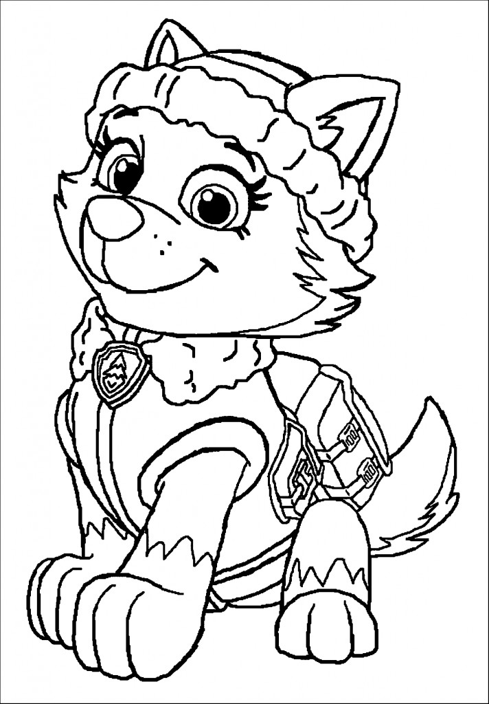 Best ideas about Printable Coloring Pages For Girls Paw Patrol . Save or Pin Paw Patrol Coloring Pages Best Coloring Pages For Kids Now.
