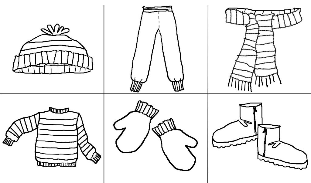 Printable Coloring Pages For Girls With Shirts  Coloring Pages For Winter Clothes The Art Jinni
