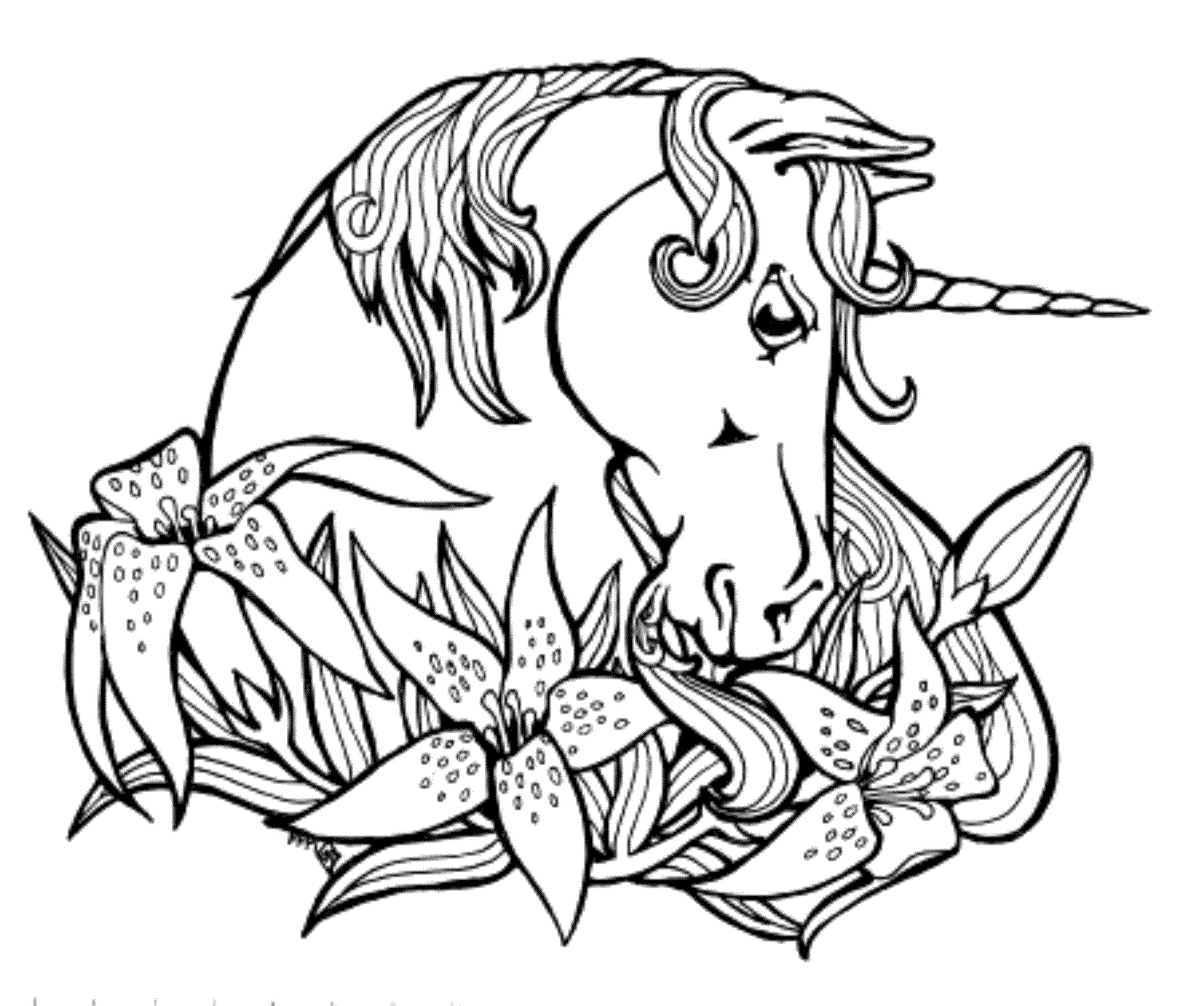Printable Coloring Pages For Kids Unicorn  Print & Download Unicorn Coloring Pages for Children