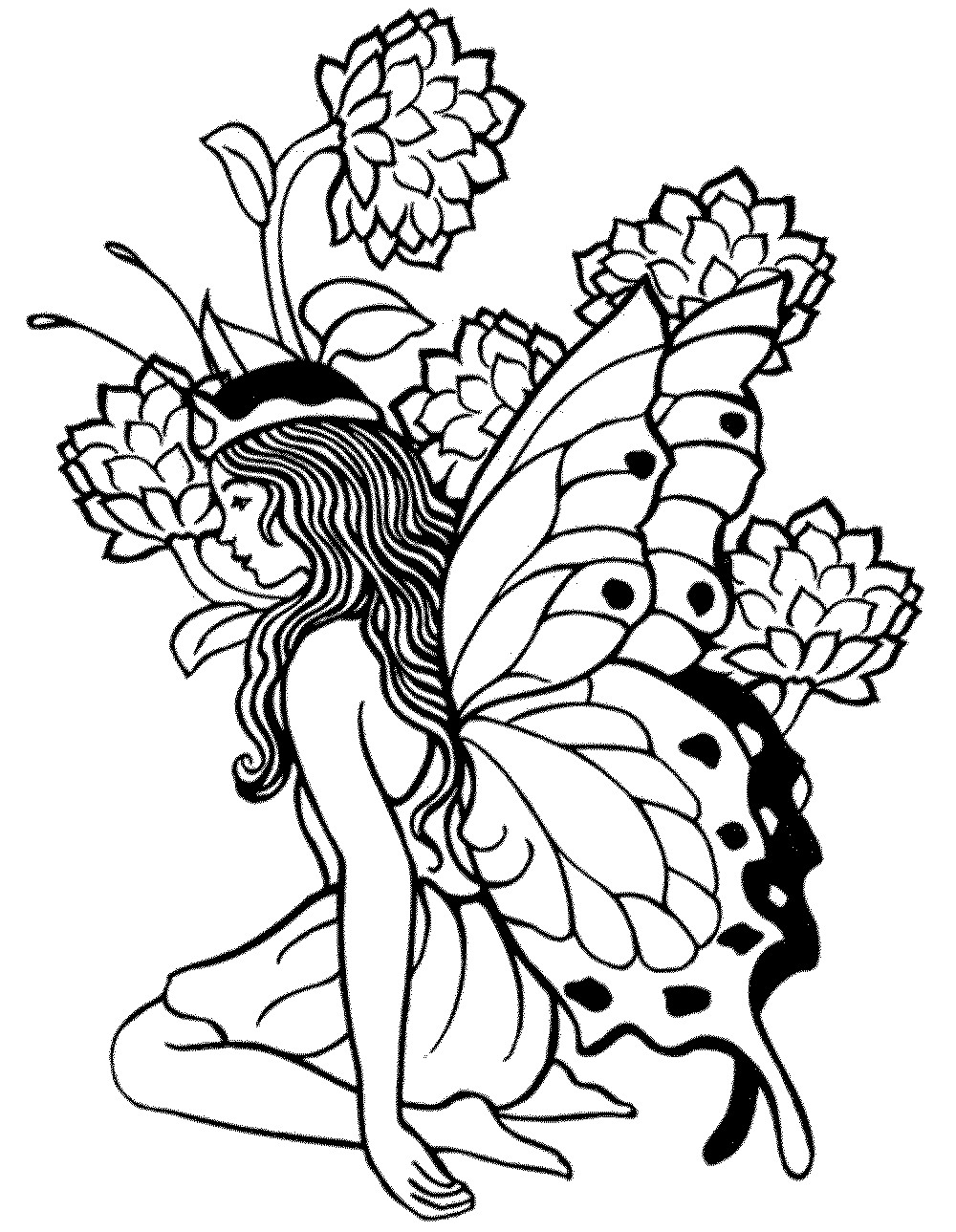Printable Coloring Pages For Men  Free Coloring Pages For Adults Printable Detailed Image 23