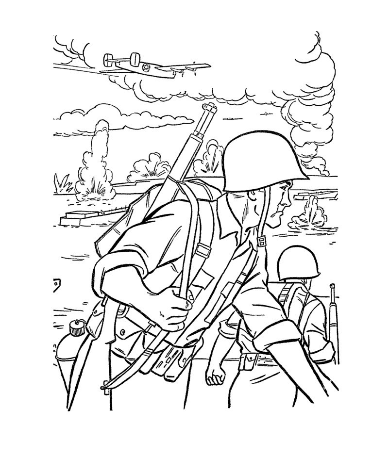 Printable Coloring Pages For Men  Free Printable Army Coloring Pages For Kids