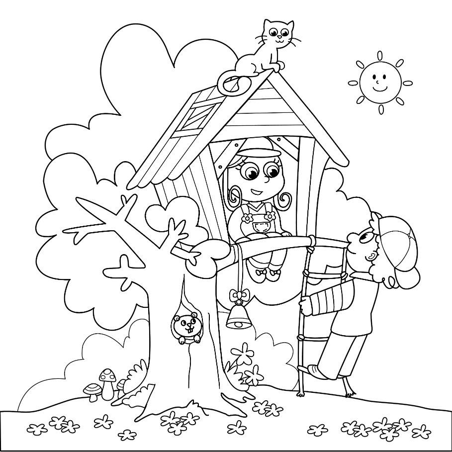 Printable Coloring Pages For Older Kids  summer coloring pages for older kids Free