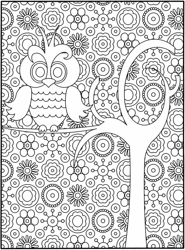 Printable Coloring Pages For Older Kids  Difficult Coloring Pages For Older Children AZ Coloring