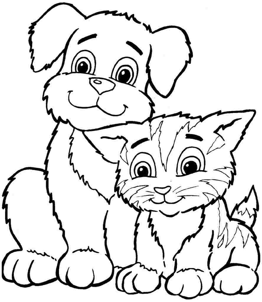Printable Coloring Pages Of Animals  30 Animals Coloring pages for Free Gianfreda