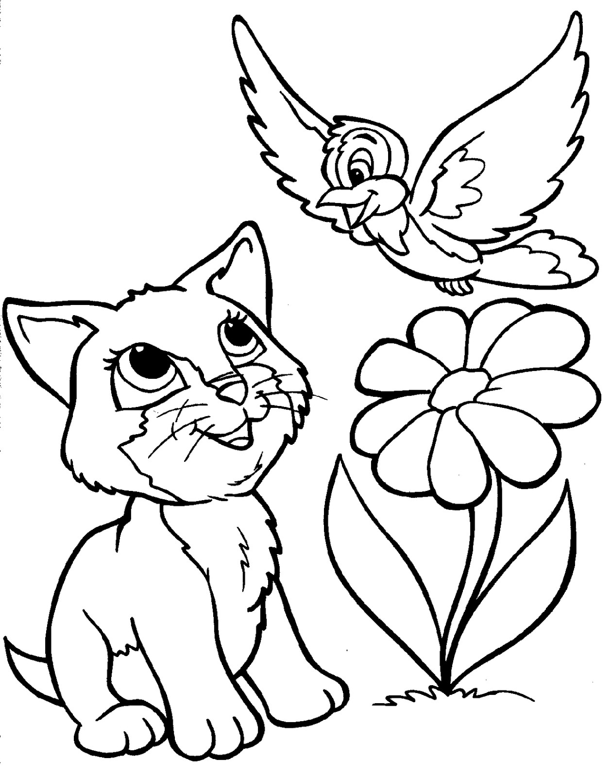 Printable Coloring Pages Of Animals  Cute Baby Animal Coloring Pages 18 Image – Colorings