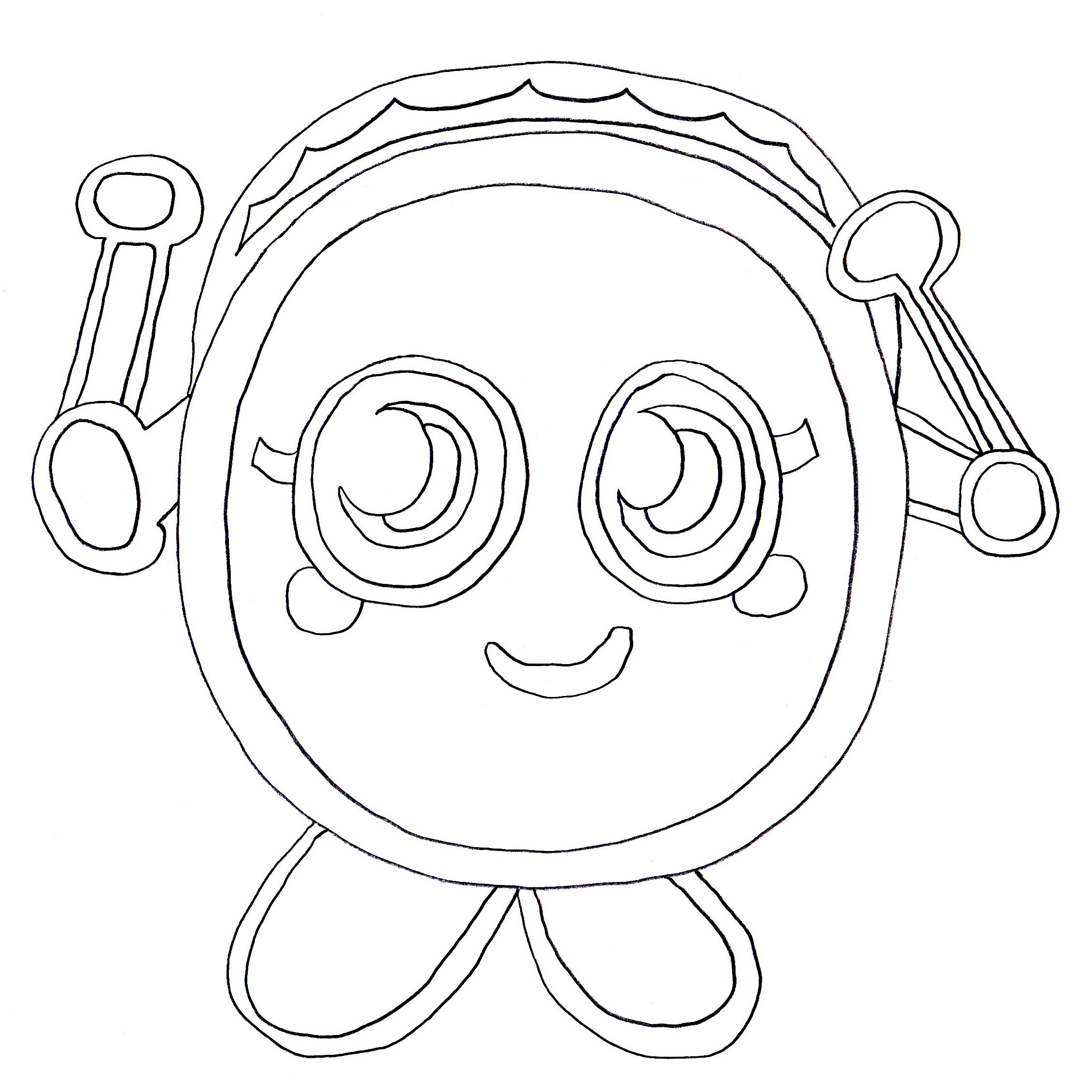 Printable Coloring Pages Of Moshlings  Free Printable Moshi Monster Coloring Pages For Kids