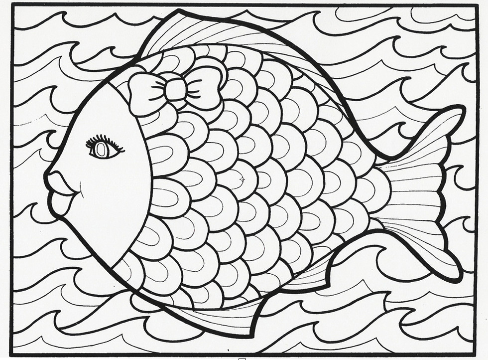 Printable Coloring Pages Summer  Summer Coloring Pages