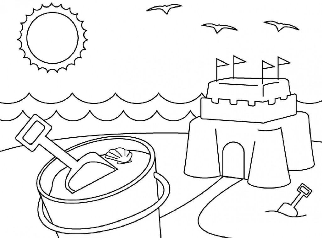 Printable Coloring Pages Summer  Summer Coloring Pages Printable Love The Sun Shine