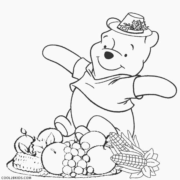 Printable Coloring Pages Thanksgiving Kids  Printable Thanksgiving Coloring Pages For Kids