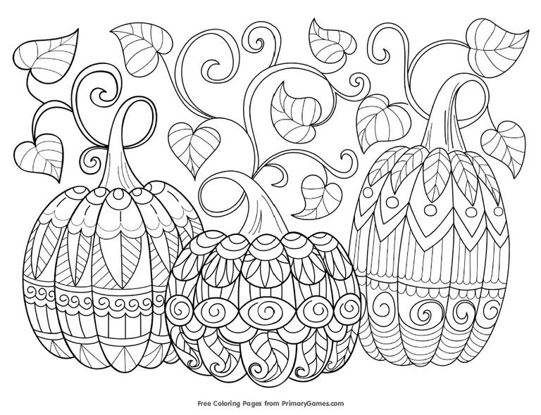 Printable Coloring Sheets For Fall  423 Free Autumn and Fall Coloring Pages You Can Print