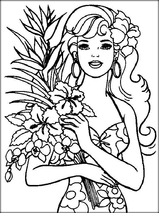 Printable Coloring Sheets For Teenage Girls  Printable Cute Coloring Pages For Girls Color Zini