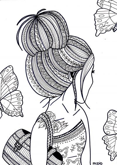 Printable Coloring Sheets For Teenage Girls  Tumblr Coloring Pages For Teenagers Printable Coloring