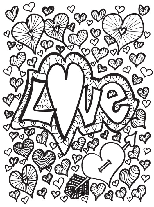 Printable Coloring Sheets For Teenage Girls  Coloring Pages for Teens Best Coloring Pages For Kids