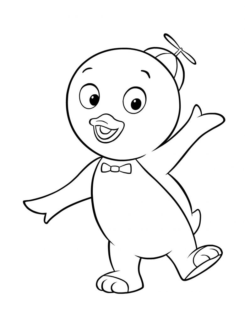 Printable Coloring Sheets Free  Free Printable Backyardigans Coloring Pages For Kids