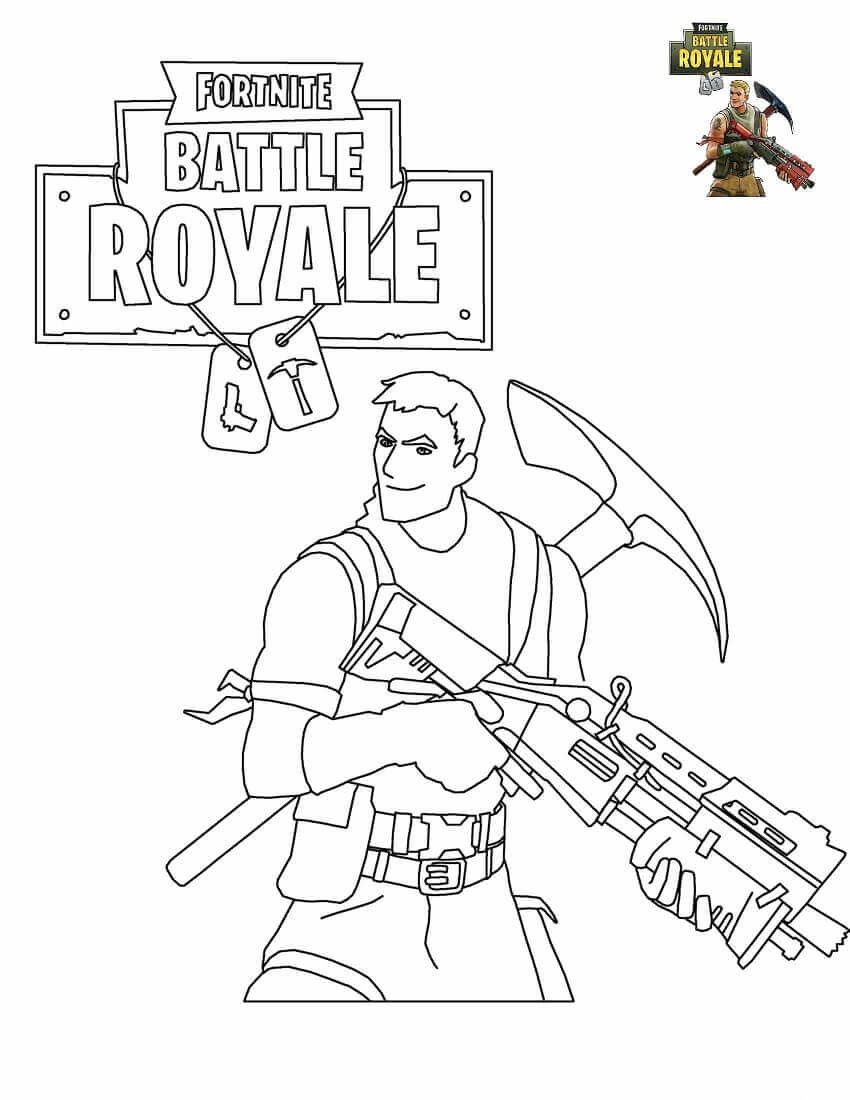 image relating to Printable Fortnite Coloring Pages referred to as 20 Suitable Printable fortnite Coloring Internet pages - Least complicated Collections