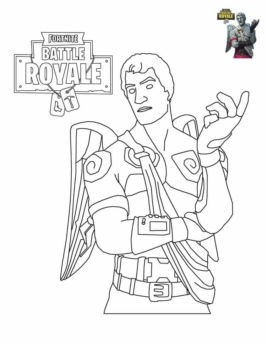 graphic about Free Printable Fortnite Coloring Pages named 20 Excellent Printable fortnite Coloring Webpages - Most straightforward Collections