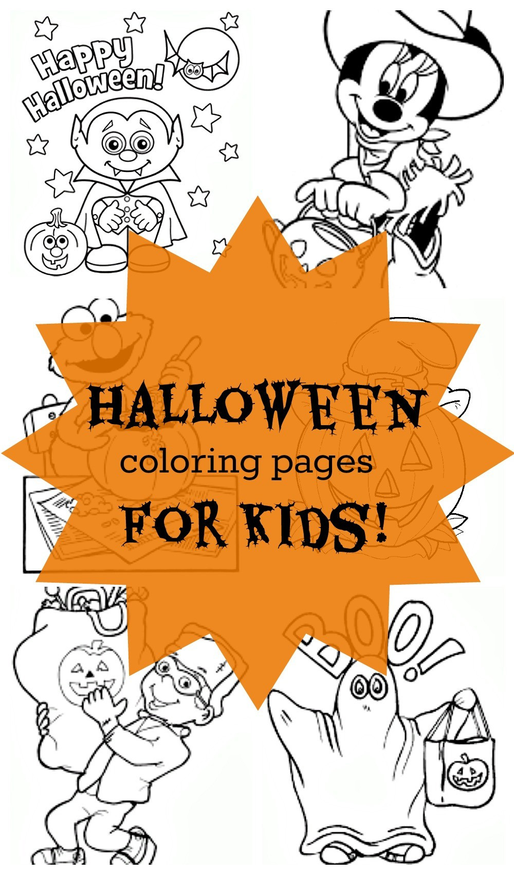 Printable Halloween Coloring Pages For Kids  24 Free Printable Halloween Coloring Pages for Kids