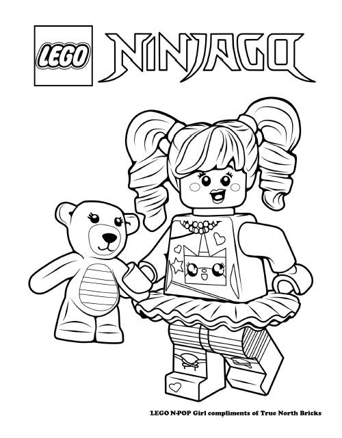 Printable Lego Coloring Sheets For Girls  Lego Coloring Pages For Girls at GetColorings