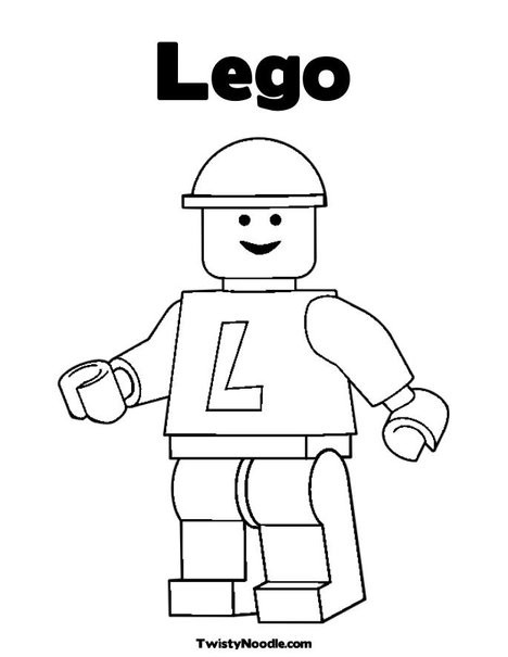 Printable Lego Coloring Sheets For Girls  Free Printable Coloring Pages Lego The Color Panda