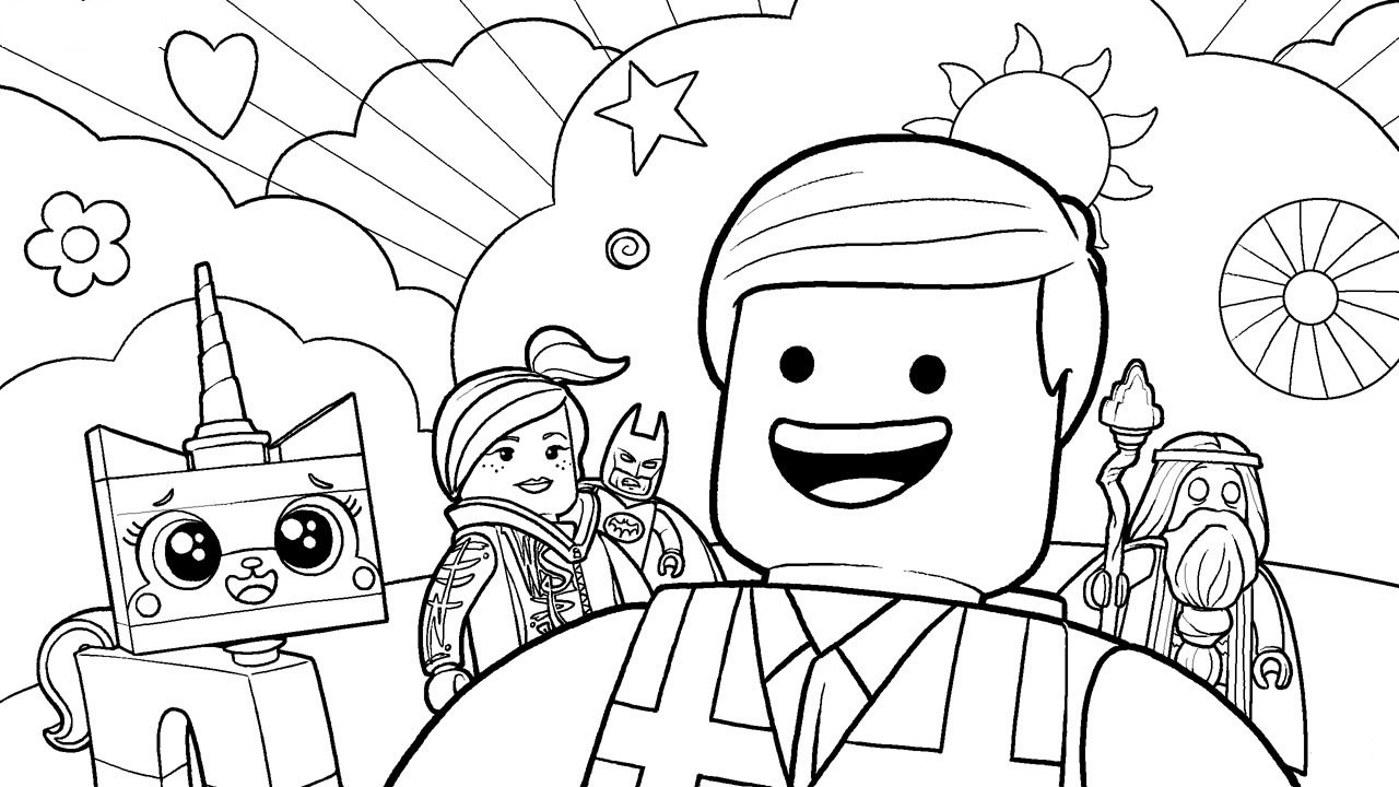 Printable Lego Coloring Sheets For Girls  lego coloring pages