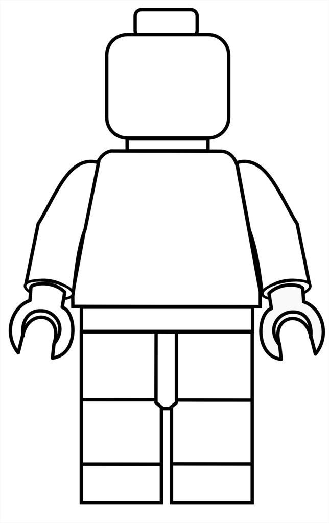 Printable Lego Coloring Sheets For Girls  Free Lego Printable Mini Figure Coloring Pages free lego