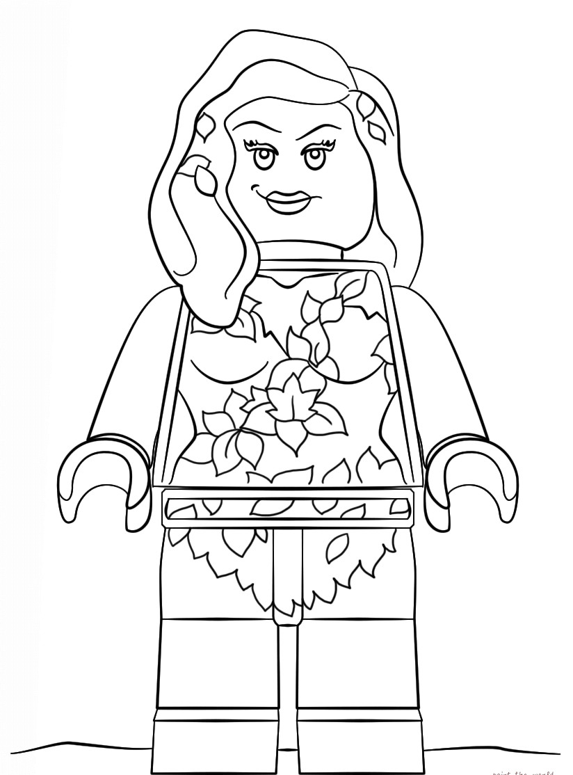 Printable Lego Coloring Sheets For Girls  The Lego Movie Coloring Pages coloringsuite
