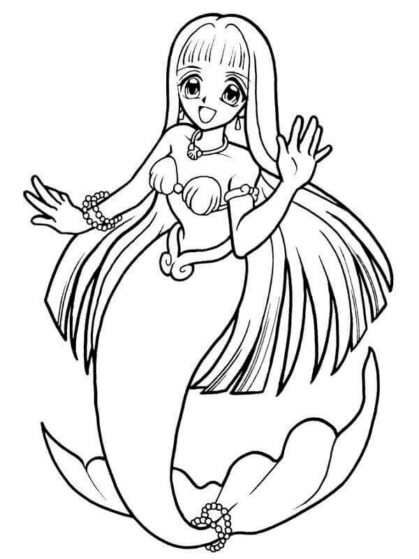 Printable Mermaid Coloring Pages For Girls  30 Stunning Mermaid Coloring Pages