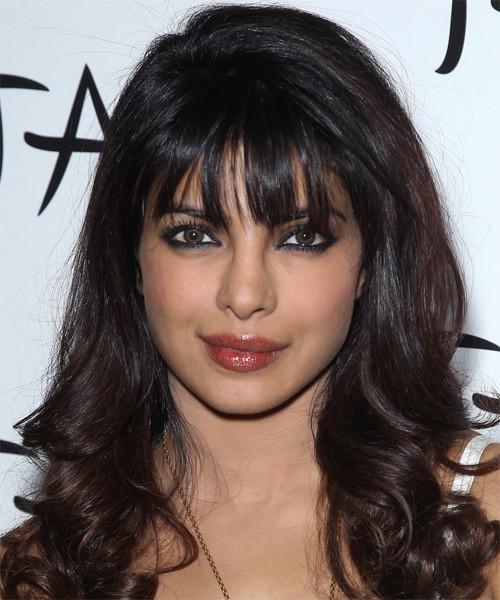 Priyanka Chopra Haircuts  Priyanka Chopra Long Wavy Formal Hairstyle