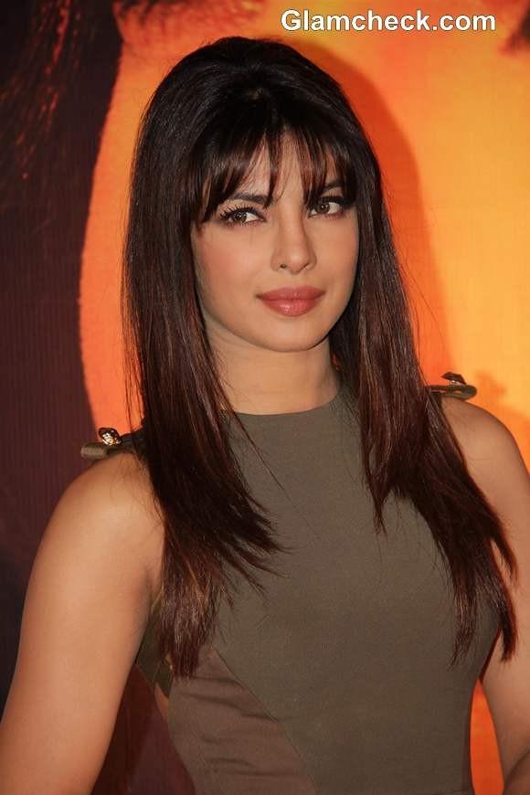 Priyanka Chopra Haircuts  Priyanka Chopra In Victoria Beckham At The Launch Her