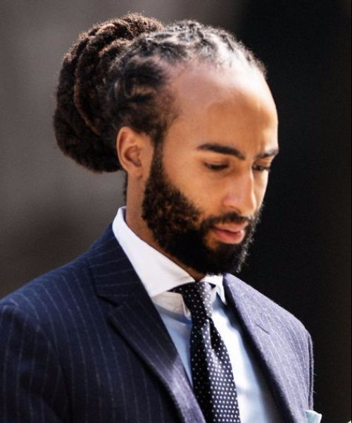 Prom Haircuts For Black Guys  50 Creative Long Hairstyles for Black Men