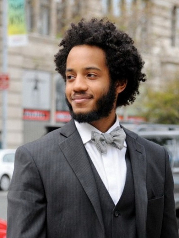 Prom Haircuts For Black Guys  2014 Creative Curly Hairstyles for Black Men