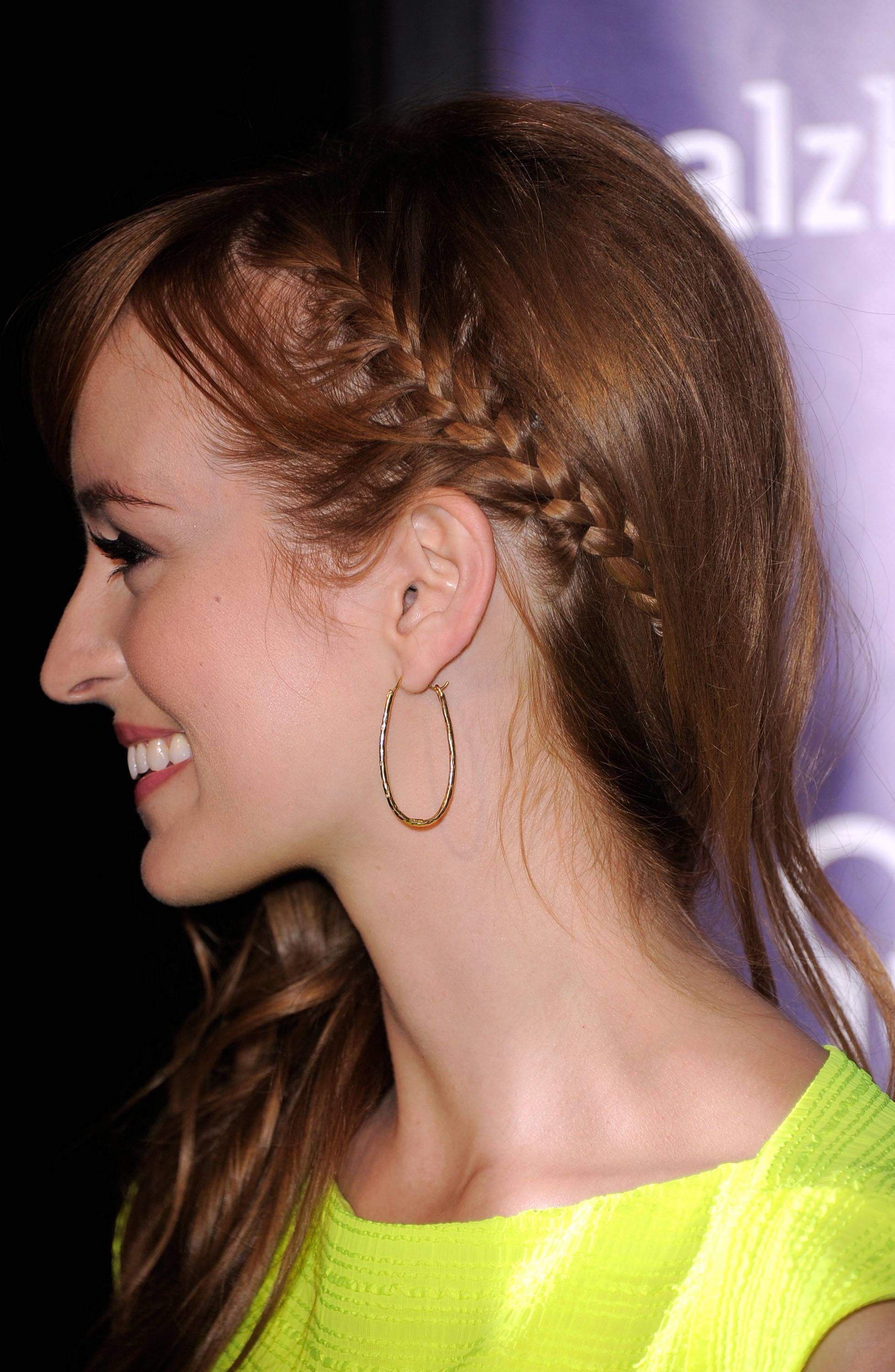 Prom Hairstyle Braid  Braided Hairstyles Inspirations for Prom and Parties