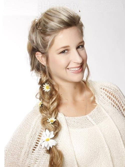 Prom Hairstyle Braid  Top 12 Beautifully Made Braided Hairstyle Ideas for Prom