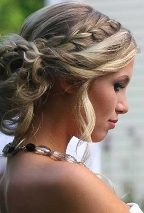 Prom Hairstyle Braid  20 Long Hairstyles Updos
