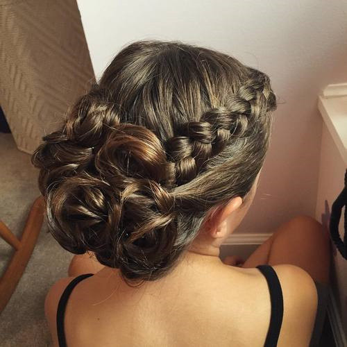 Prom Hairstyle Braid  Trubridal Wedding Blog