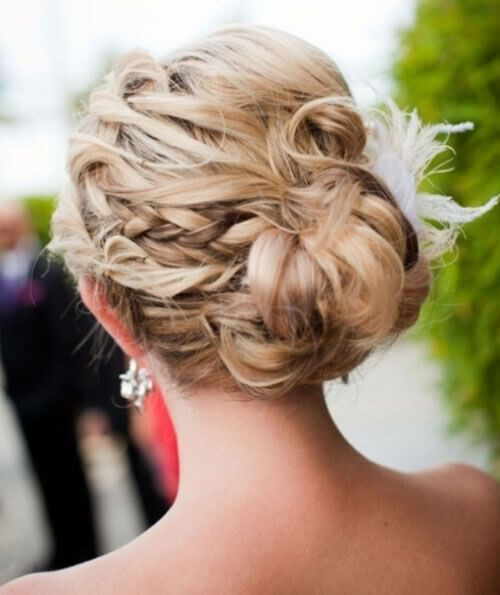 Prom Hairstyle Braid  20 Exciting New Intricate Braid Updo Hairstyles PoPular