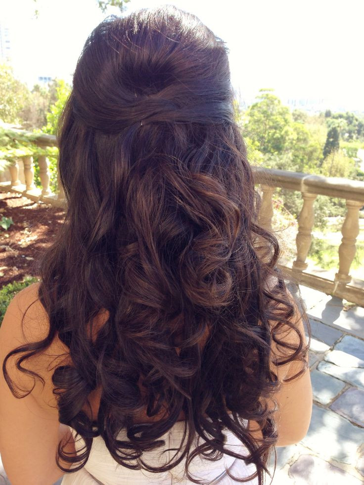 Prom Hairstyle Half Up  Cute Prom Hairstyles Half Up Half Down For Long Hair